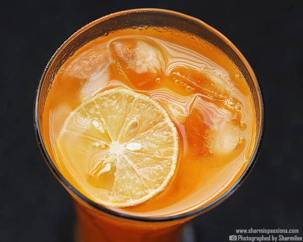 Iced Mango Tea Recipe