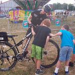 June 8, 2016 - 08:50 - Bedford County Sheriff's Office newly launched 'Rural Bike Patrol' first utilized at the County Fair, gained much interest from the kids! Community policing at its finest!  