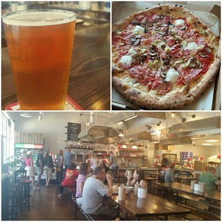 Enjoyed some great 🍕 @InizioPizza in #Ballantyne #Charlotte. 👍#CraftBeer  #NCBeer #Pizza👍👏 #Food #Foodie #yum #Eats