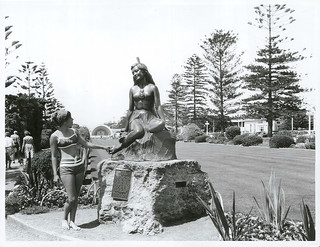 Statue of Pania of the Reef, Napier, New Zealand