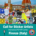 Call for Sticker Festival by Stelleconfuse