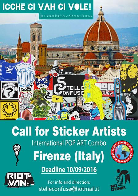 Call for Sticker Festival