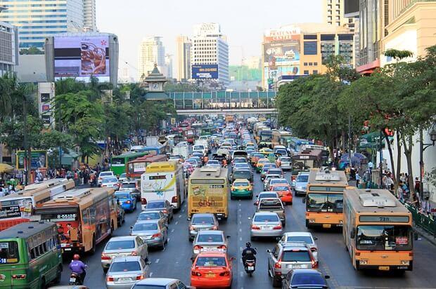 160616 タイ交通渋滞