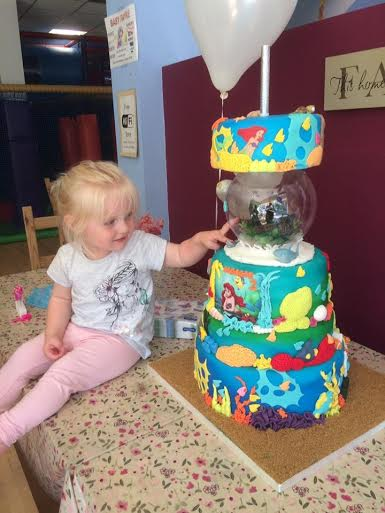 My Granddaughter's 2nd Birthday Cake by Suzie Brierley