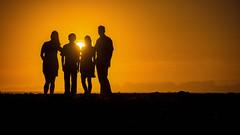 Family Sunset - Santa Cruz