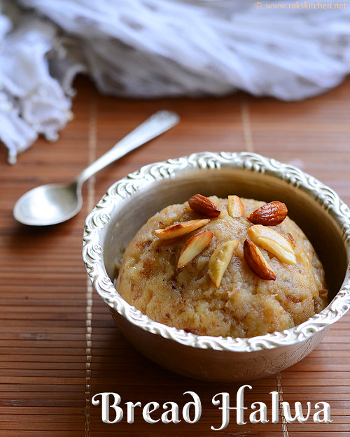 Bread halwa recipe how to make bread halwa raks kitchen bread halwa recipe forumfinder Gallery