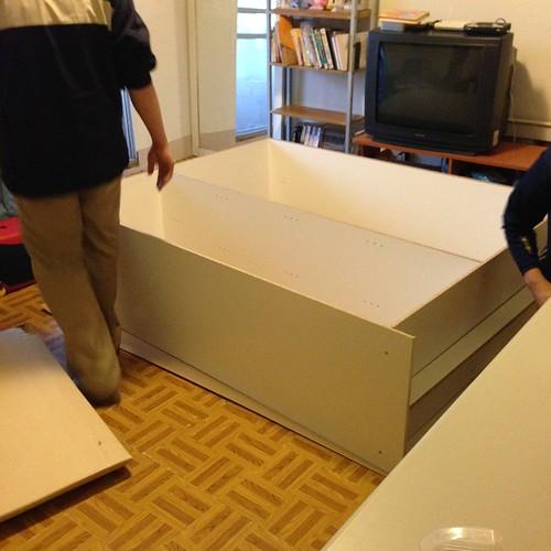 IKEA DOMBÅS 衣櫃組裝記