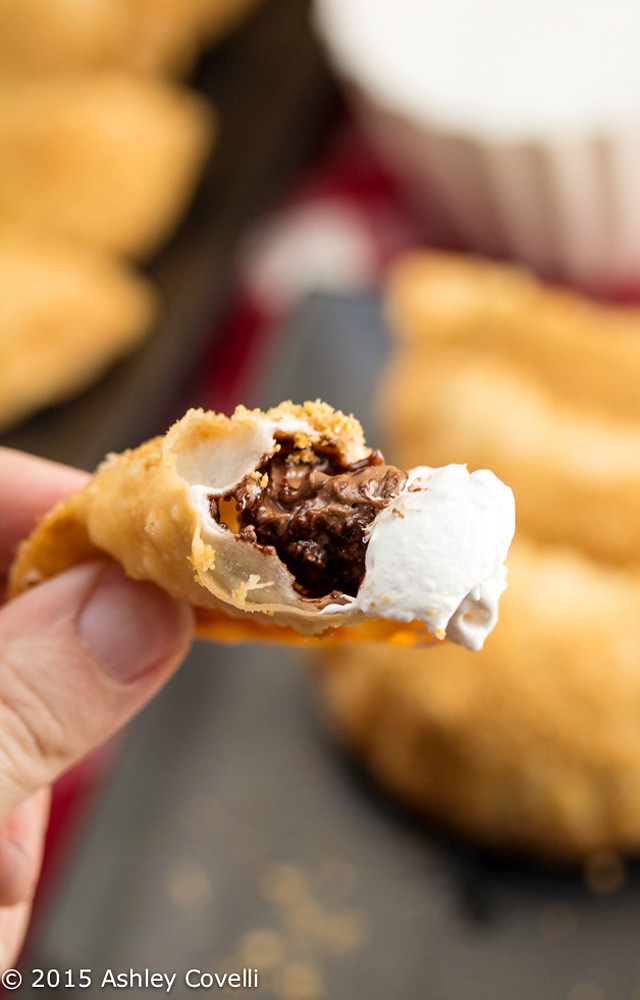 Nutella S'mores Dumplings 4