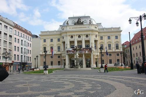 Bratislava und Schiffstour bis Wien 18.04.201553