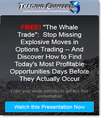 Whale trade options