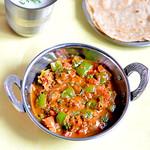 Capsicum masala recipe