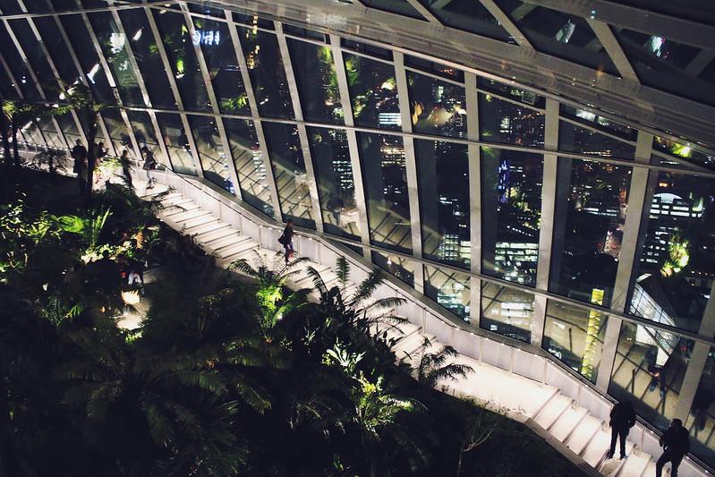 Sky Garden at Night 2