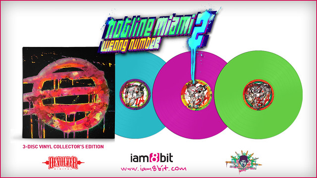 Hotline Miami 2 Soundtrack on Vinyl
