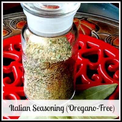 Italian Seasoning (Oregano-Free)