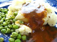 150405 Easter Mash Gravy Peas