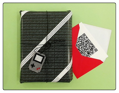 New geeky gift package idea!
