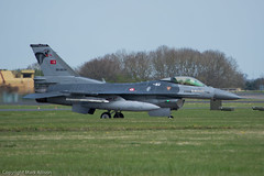Turkish F-16's RAF Leeming