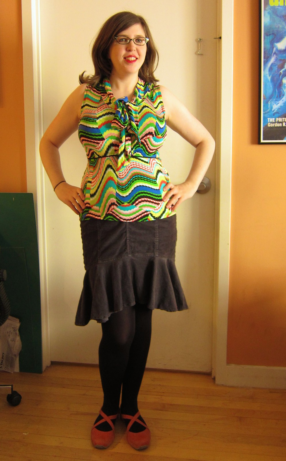 Eye-Searing Jalie Top (w/ So Zo nursing top hack)