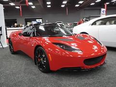 ferrari california(0.0), automobile(1.0), lotus(1.0), tesla roadster(1.0), vehicle(1.0), automotive design(1.0), lotus evora(1.0), land vehicle(1.0), luxury vehicle(1.0), sports car(1.0),
