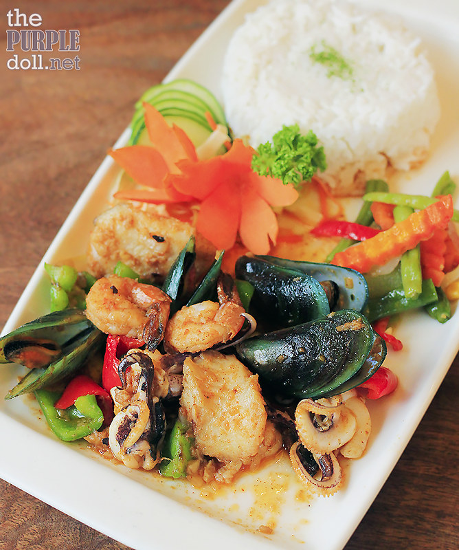 Mixed Seafoods Saute (P265)