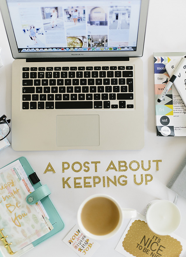 Keeping Up With Blogging