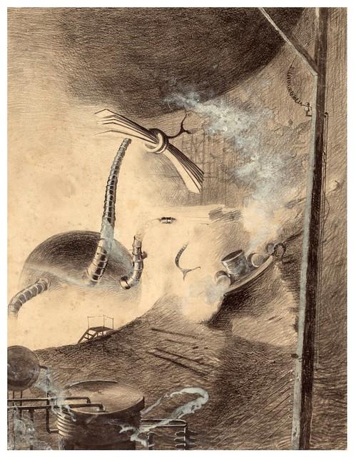 016-La Guerre des Mondes illustreè par Alvim Corrêa-1906- Heritage Auctions