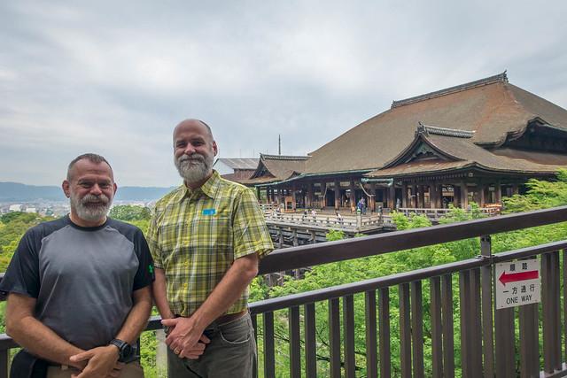 Us at Kiyomizu-dera