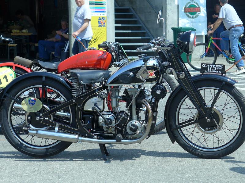 Aquila Invicta Super Sport 1933 175cc OH4V