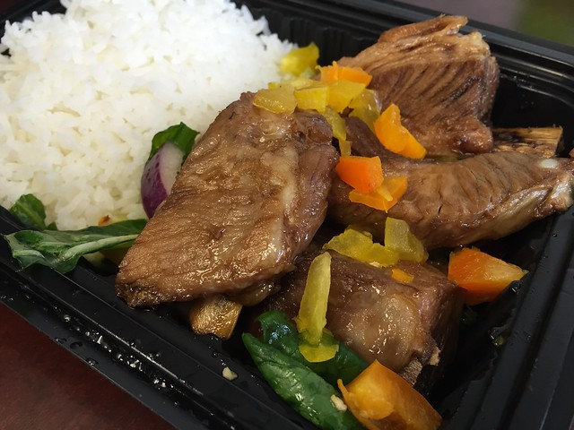Bbq pork spareribs - Fang Restaurant