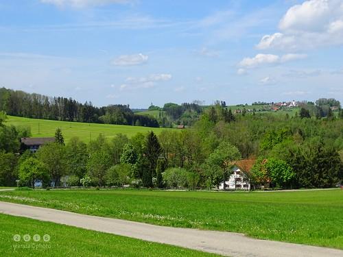 In und um Schachen, ein Ortsteil des oberschwäbischen Marktes Ottobeuren im Unterallgäu
