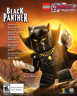 LEGO Marvel Avengers DLC Black Panther
