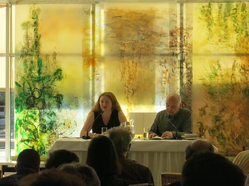 Claire Keegan und Hans-Christian Oesner