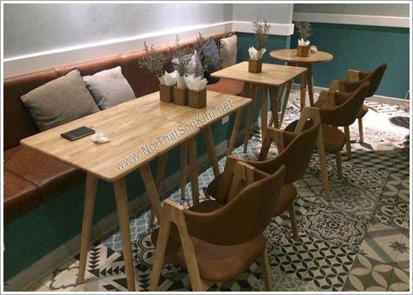 Bộ bàn ghế Cafe Gỗ SKG03