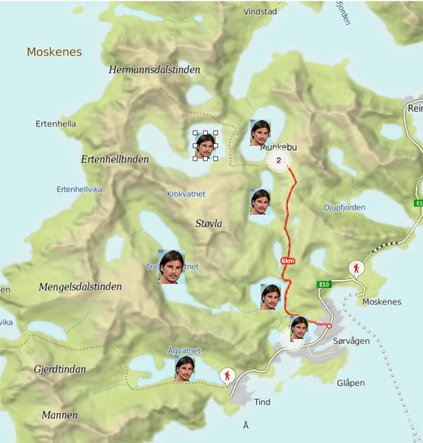 Moskenesøya loves Josh Hartnett