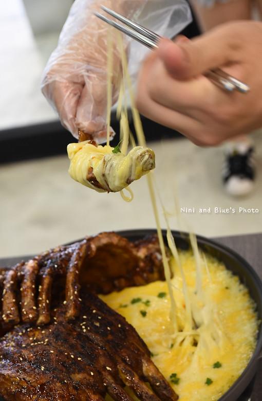打啵G台中韓式料理烤肉串菜單menu價位19