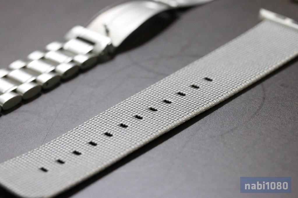 Apple Watch ウーブンナイロンバンド09