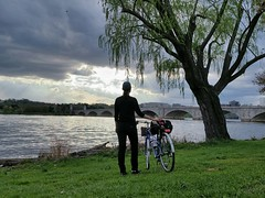 Friday stop by the Potomac River #bikedc #30daysofbiking