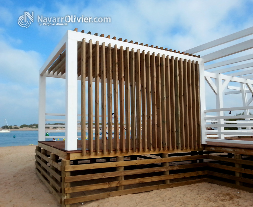 Navarrolivier estructuras de madera pergolas y 39 s most - Pergolas de madera ...