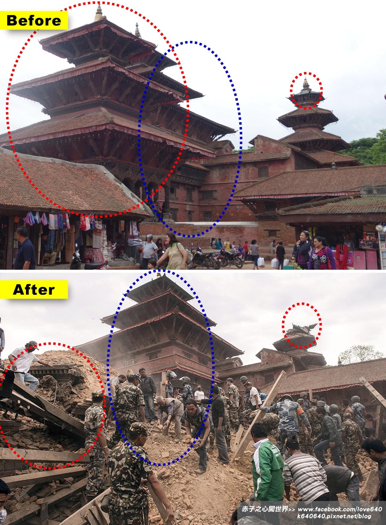 Nepal Kasthamandap earthquake-Patan