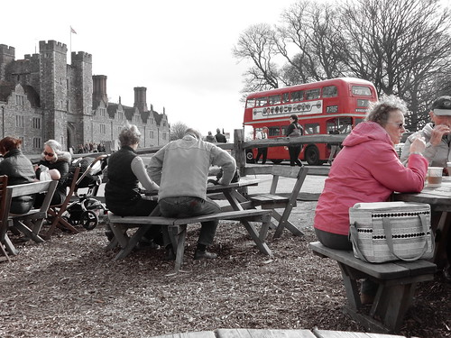 London Bus at Knole House