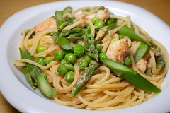 Pasta with Spring Vegetables