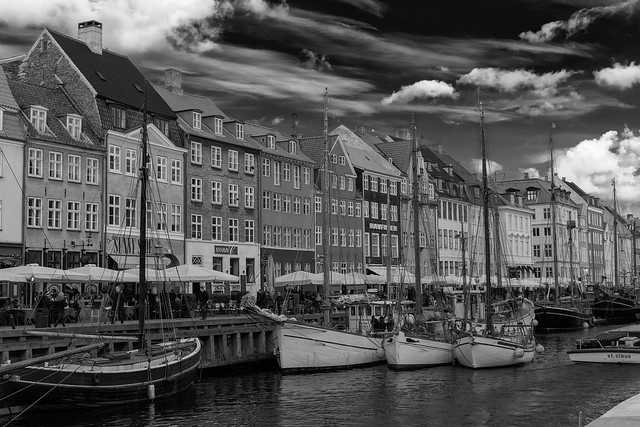 Clouds Over Nyhavn