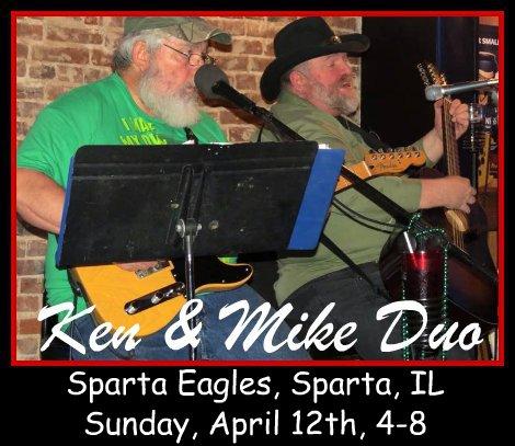 Ken & Mike Duo 4-12-15