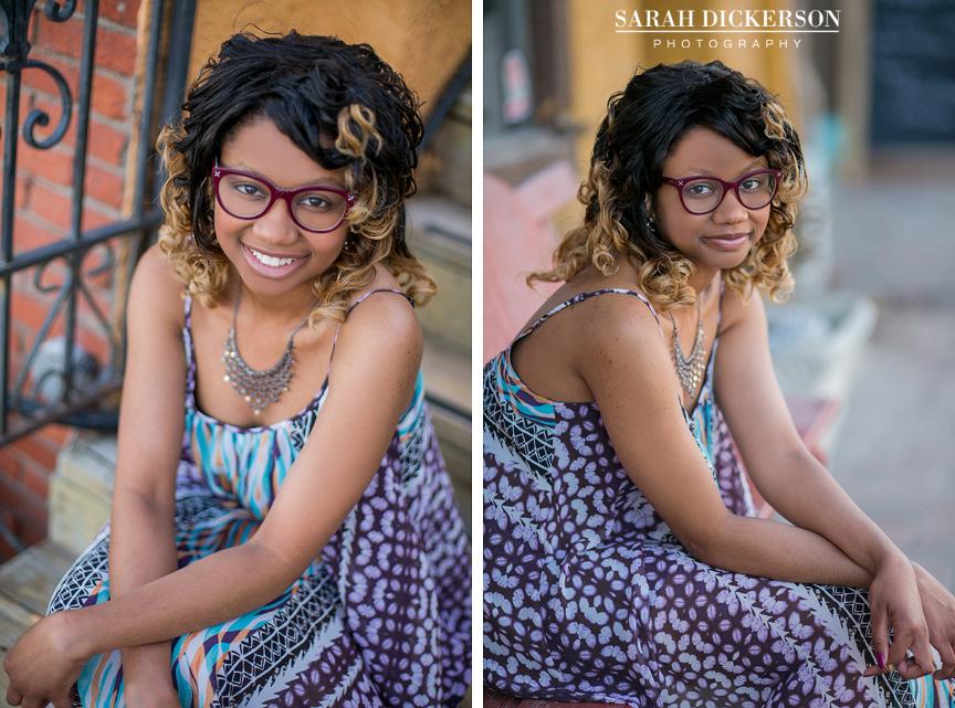 Kansas City senior portraits