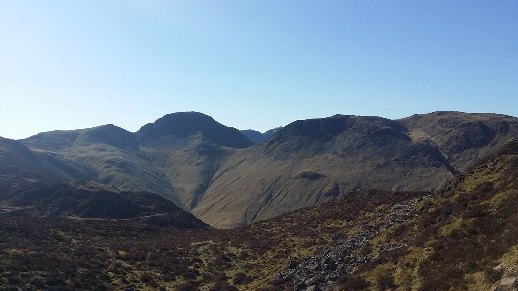 Great Gable from Haystacks #sh