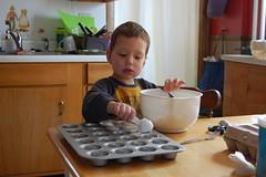 Making Birds Nest Cookies