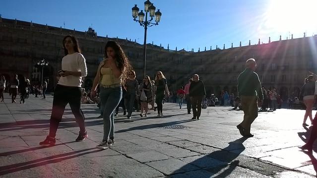 Un día soleado en Salamanca