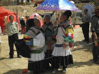Guizhou China  2015 贵阳石头寨(二月十五)跳场