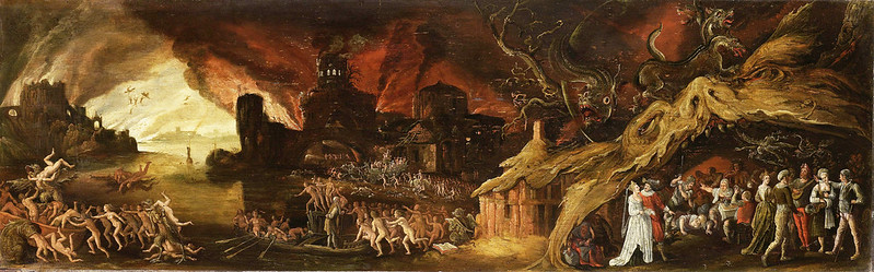 Jacob Isaacsz van Swanenburg - The Last Judgment and the Seven Deadly Sins, 1600 - 1638