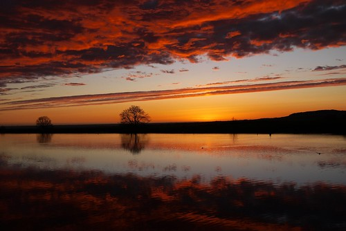 trees sunset red sky orange water clouds reflections evening spring quote silhouettes reservoir lancashire april ripples beaconfell longridge ribblevalley fieryredclouds toplodge tootleheightsreservoir